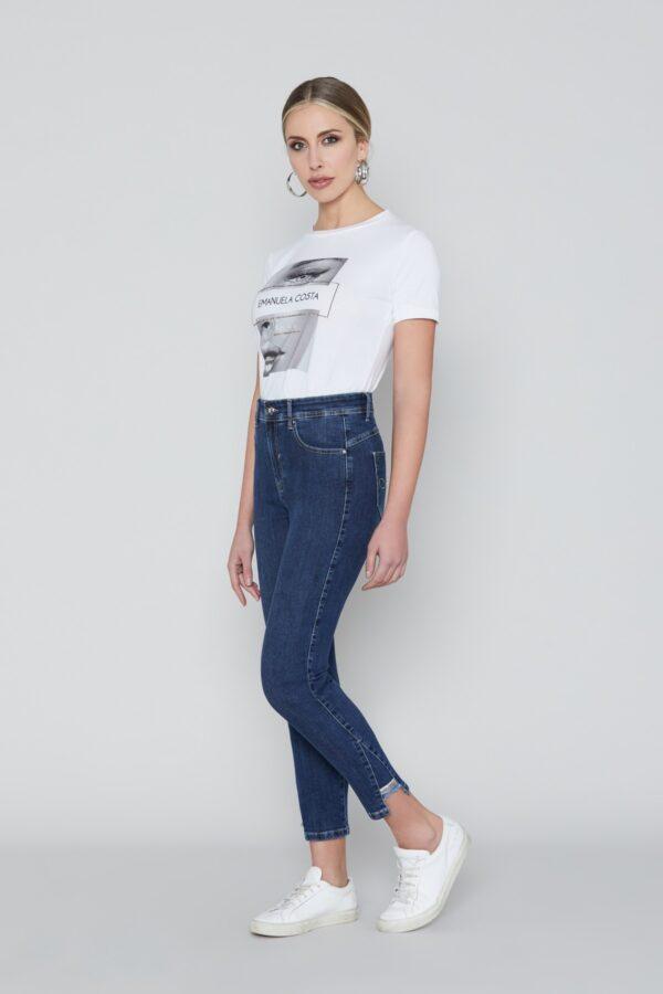 Jeans Capri Corto EC6373