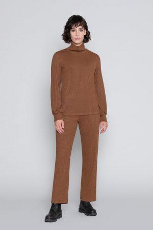 Pantalone Cropped Cashmere